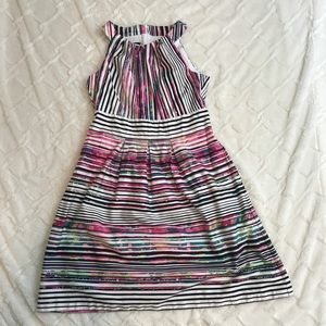 Nine West multicolor dress with pockets